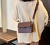 Жіноча сумка через плече Silver Коричнева, фото 4