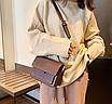 Жіноча сумка через плече Silver Коричнева, фото 5