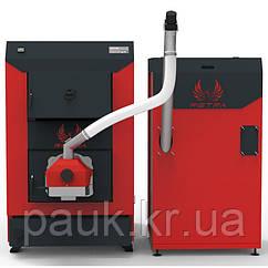 Пеллетный котел 50 кВт Retra Light Combi, котел для пеллет с бункером