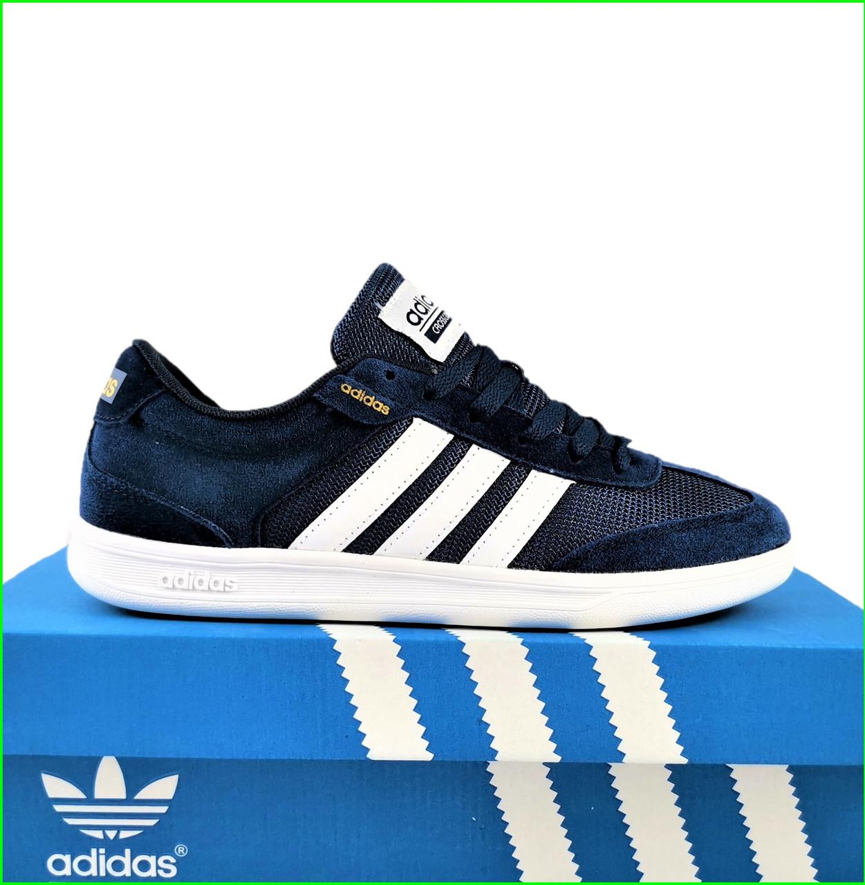 Кроссовки Мужские Adidas Neo Синие Адидас (размеры: 41,43,44,46) Видео Обзор