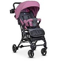 Візок дитячий ME 1039 IDEA Plum прогулянковий, книжка, колеса 4 шт., чохол, фіолетовий.