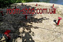 Оголовки (оголовники, пластины, фланцы) для свай диаметром 130 мм., площадка 150х150 мм. (геошуруп, паля), фото 3