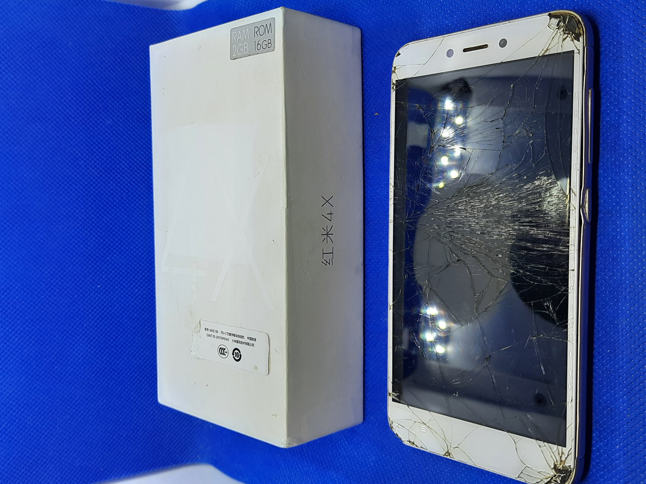 Xiaomi redmi 4x 2/16 #7943 на запчастини