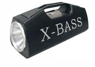 Колонка Golon RX-BT160 с LED фонарем Black