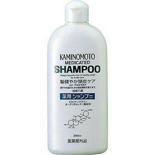 Kaminomoto Medicated Shampoo B&P Лікувальний шампунь для росту волосся, 300 мл