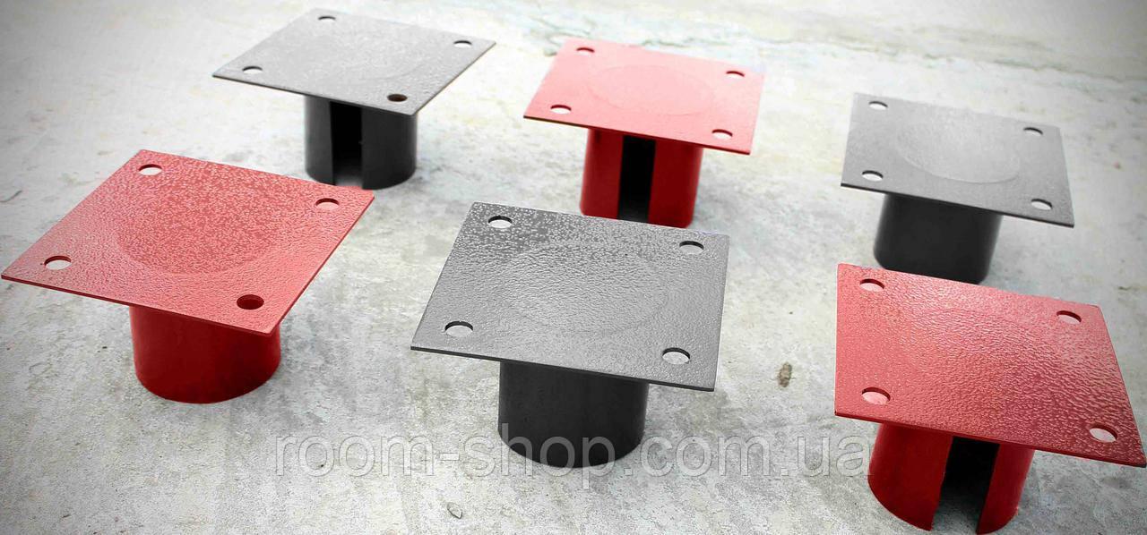 Оголовники (оголовки, пластини, фланці) до паль діаметром 133 мм майданчик 150х200 мм (паля, палячи)