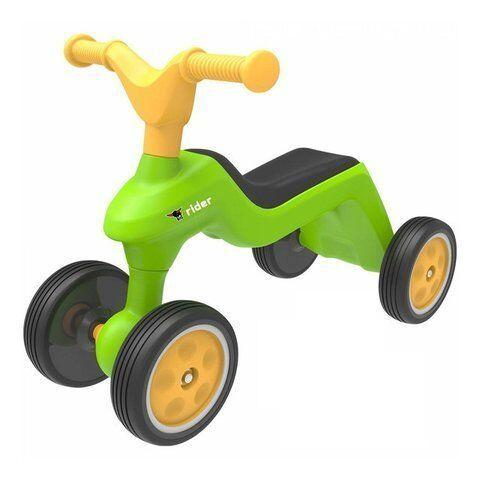 """Дитячий біговел ролоцикл """"Rider"""" для катання малюка (4-колісний, до 25 кг) Big, 18м+ (55301)"""