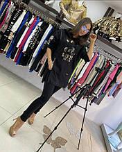 Шикарный костюм Zanardi Новая коллекция Турция люкс черный