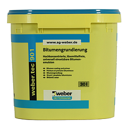 Weber.tec 901  (ведро - 30 литров)