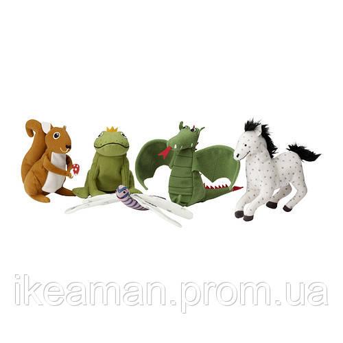GULLEPLUTT Кукла на палец, различные модели - Икеамания в Киеве
