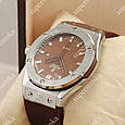 Деловые наручные часы Hublot Big Bang AA quartz Brown/Silver/Brown 1254, фото 3