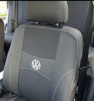 Модельные автомобильные чехлы VOLKSWAGEN CADDY (2003-2010/2010-2021) (задние 3 по 1)