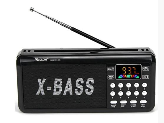 Радіоприймач GOLON RX-BT204L