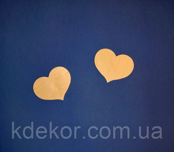 Сердце (Сердечко) заготовка для декупажа и декора