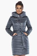 Женская куртка Braggart стильная осенне-весенняя цвета маренго модель 66870