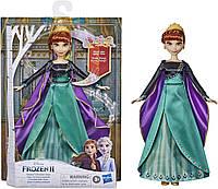 Музыкальная Кукла Анна Поющая Холодное сердце 2 Disney Frozen Hasbro E8881