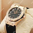 Кварцевые наручные часы Hublot Big Bang AA quartz Black/Gold/Black 1255, фото 2