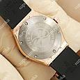 Кварцевые наручные часы Hublot Big Bang AA quartz Black/Gold/Black 1255, фото 5