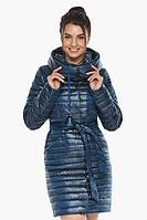 Брендовая женская куртка Braggart осенне-весенняя цвета ниагара модель 66870