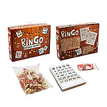 Настольная игра лото BinGo, укр 30757