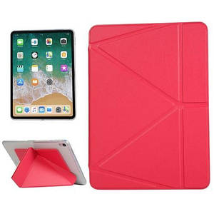 """Чехол Origami Case для iPad 10,2"""" (2019/2020) Leather raspberry"""