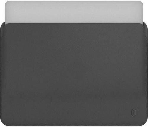 Папка конверт Wiwu Skin Pro2 Leather для MacBook 16'' gray, фото 2