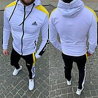 Спортивный костюм мужской Adidas 2021 белый