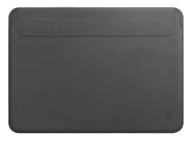 Папка конверт Wiwu Skin Pro2 Leather для MacBook Air 13,3'' (2018) gray