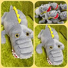 Детский плед игрушка Крокодил