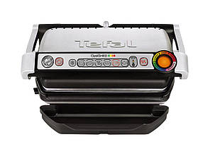 Електрогриль притискний Tefal OptiGrill+ GC716 (GC716D12)+вафельниця