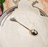 Коллекционная серебряная ложка INDIA, отмечена серебром Sterling (925 проба), фото 4