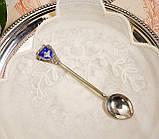 Коллекционная серебряная ложка INDIA, отмечена серебром Sterling (925 проба), фото 2