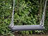 Дерев'яні гойдалки Sublime XL Deluxe з прогумованими гойдалками на ланцюгах, фото 2