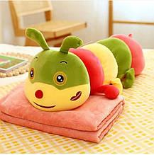 Детский плед игрушка Гусеница