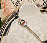 Коллекционная серебряная ложка Helgoland, серебро 835, Германия, фото 2