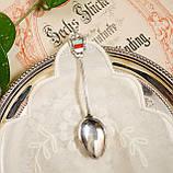 Коллекционная серебряная ложка Helgoland, серебро 835, Германия, фото 3