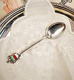 Коллекционная серебряная ложка Helgoland, серебро 835, Германия, фото 5