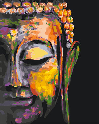 Картина по номерам Будда 50х40 см  Brushme Качество+, фото 2