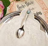 Коллекционная серебряная ложка Rheinfall, Швейцария, серебро 800, фото 2