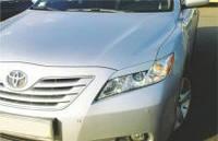 Реснички на фары Toyota Camry V40 (2006-)