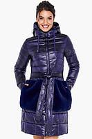 Куртка Braggart стильная фиолетовая осенне-весенняя женская модель 31845