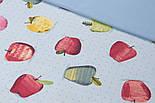 Лоскут однотонної тканини Duck колір світло-блакитний класичний 50 * 45 см, фото 2