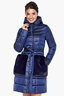 Оригинальная сапфировая куртка Braggart женская осенне-весенняя модель 31845