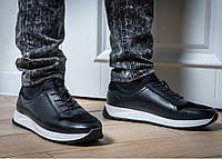 ZANGAK 022 фирменные мужские кожаные кроссовки кеды