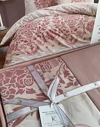 Евро размер «First Choice Dalyan pudra» постельное белье Турция