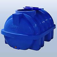 Roto Euro plast Емкость горизонтальная RG 500 Р/ребро