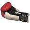 Боксерські рукавички 8 оz Кожвініл (червоні), фото 2