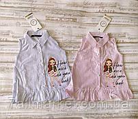 """Сорочка-туніка дитяча з рюшами на дівчинку 2-5 років (2цв) """"MATILDA"""" купити недорого від прямого постачальника"""