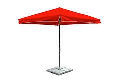 Зонт для кафе 2,5х2,5 Червоний