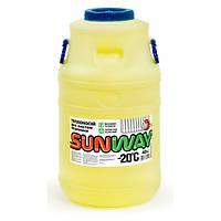 Украина SUNWAY 40 л - теплоноситель для защиты автономных систем отопления от коррозии и замерзания